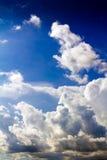 небо предпосылки голубое Стоковые Изображения RF