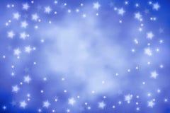 небо предпосылки голубое Стоковое Изображение
