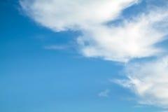 небо предпосылки голубое стоковые фотографии rf