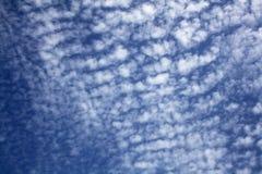 небо предпосылки пасмурное Стоковые Фотографии RF