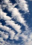небо предпосылки солнечное Стоковые Изображения