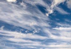 небо предпосылки Стоковое Изображение