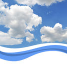 небо предпосылки Стоковое Фото