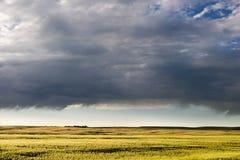 небо прерии ландшафта Стоковое Изображение RF