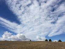 Небо прерии Стоковые Фото