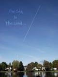 Небо предел стоковое фото