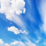небо предпосылки Стоковое Изображение RF