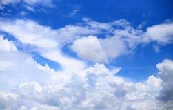 небо предпосылки голубое Стоковое Фото