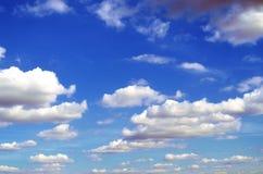 небо предпосылки голубое Стоковая Фотография RF