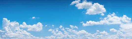 небо предпосылки голубое Стоковое Изображение RF