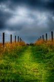 небо путя к Стоковое фото RF