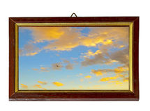 небо рамки Стоковые Изображения RF