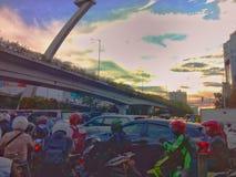 Небо радуги Стоковые Фотографии RF