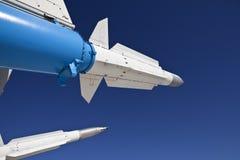 небо реактивных снарядов стоковые изображения rf