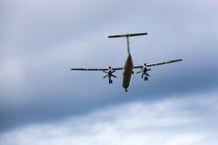 небо самолета голубое Стоковое фото RF