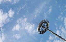 небо светильника стоковое фото