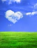 небо сердца Стоковое Изображение RF