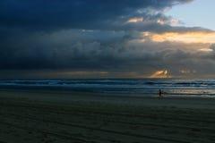 Небо сердито и смотрит страшным Стоковые Изображения RF