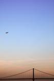 небо скрещивания Стоковые Изображения RF