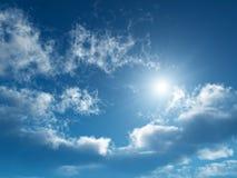 небо солнечное Стоковое Фото
