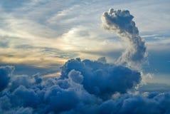 Небо солнца освещения Стоковое Изображение RF