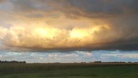 Небо страны Стоковая Фотография