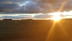 Небо страны Стоковое Фото