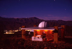небо съемки ночи выдержки длиннее Стоковая Фотография