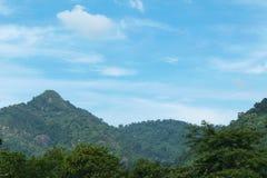 Небо с горами Стоковая Фотография RF