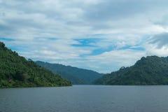 Небо с горами Стоковые Изображения RF