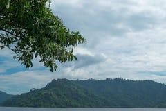 Небо с горами Стоковые Фотографии RF