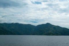 Небо с горами Стоковое Изображение RF