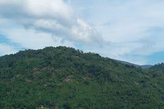 Небо с горами Стоковое фото RF