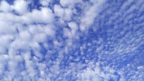 небо с конфетой хлопка стоковые изображения rf