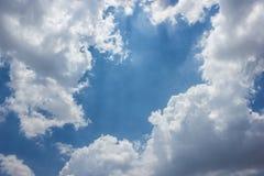 Небо с облаками. Стоковое фото RF