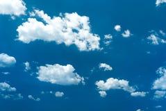 Небо с облаками Стоковые Изображения RF