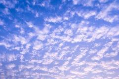 Небо с облаками Стоковая Фотография RF