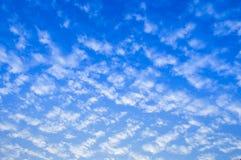 Небо с облаками Стоковые Фото