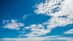 Небо с облаком, самым пасмурным Стоковое Изображение RF