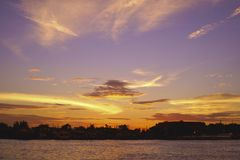 Небо с облаком Стоковое фото RF