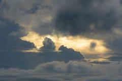 Небо с сумерк Стоковое Фото