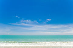 небо Таиланд моря huahin Стоковое фото RF