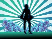 небо танцора сексуальное Стоковое Фото