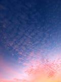 небо Тоскана Италии Стоковая Фотография