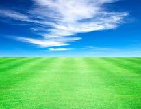 Небо лужайки Стоковое фото RF