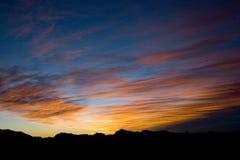 небо утра Стоковое Изображение