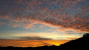 Небо утра Стоковые Фото