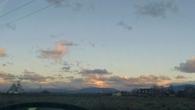 Небо утра Стоковые Фотографии RF