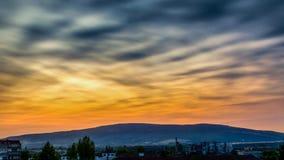 Небо утра Стоковая Фотография