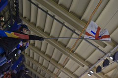 небо флага стоковое фото rf